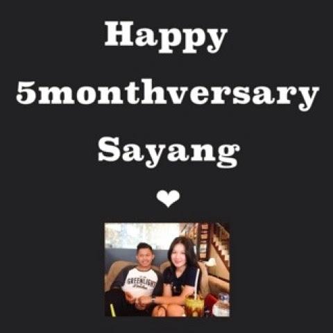 Meizarrusandy Happy Anniversary 5 Month