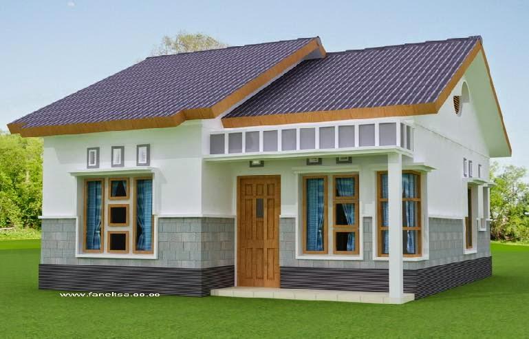 contoh model rumah sederhana gallery taman minimalis