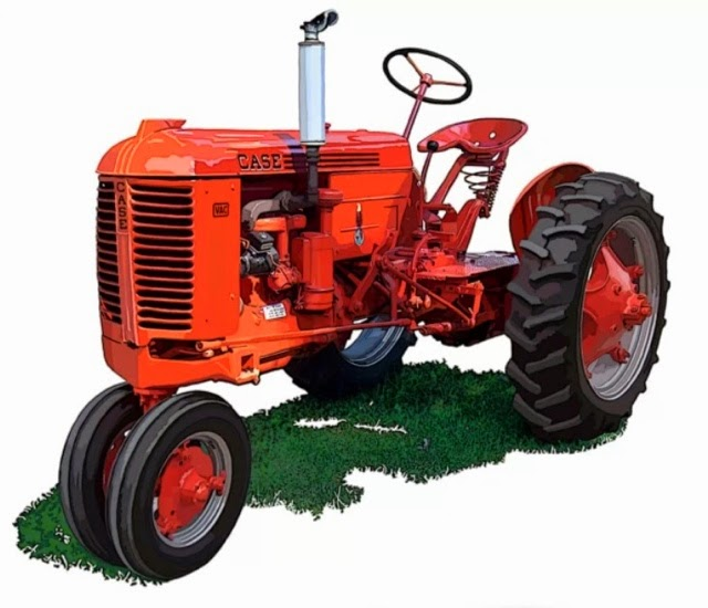 Case Vac Equipment : Dudleys diary case vac tractor like the one dudley used