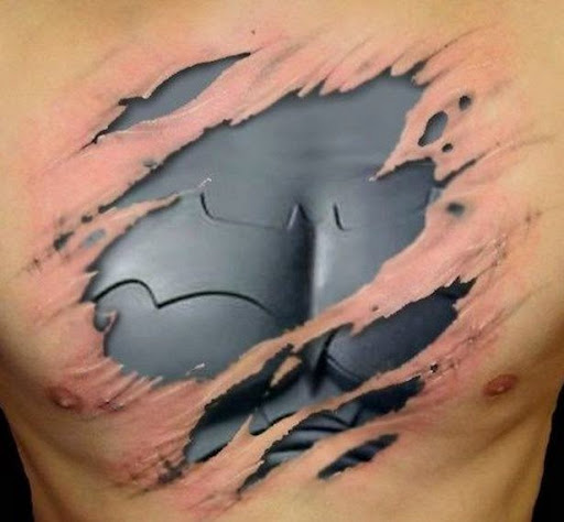 41 amazing new realistic 3d tattoo designs for Women s 3d tattoos