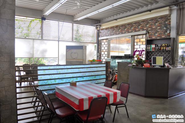 萬曏磚窯雞餐廳內部一隅