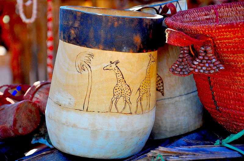 Traditional Himba Pottery
