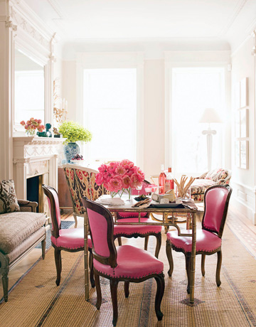 12 devonshire: Bold Dining Room Chairs - photo#4