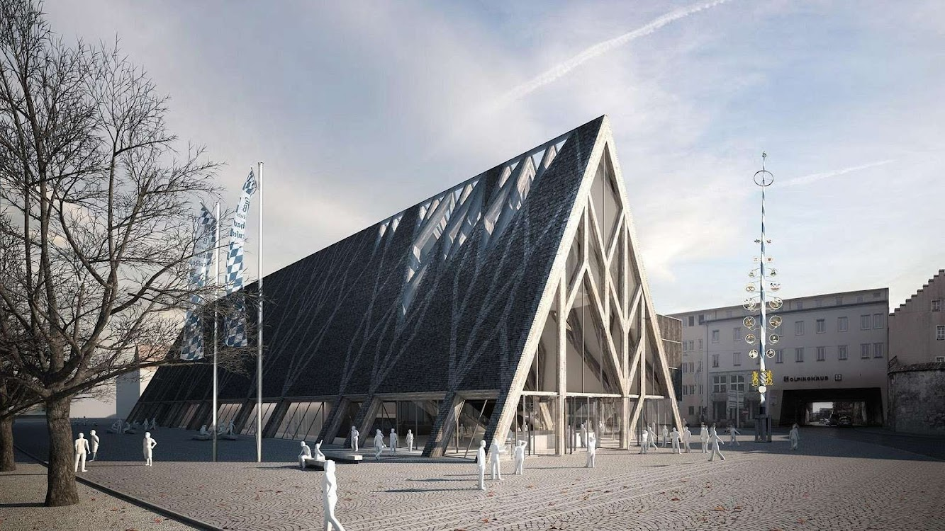 Ratisbona, Germania: Museum of Bavarian History Competition Entry by Modostudio