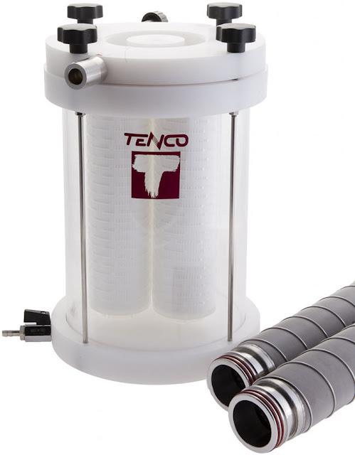 Συσκευή φιλτραρίσματος Tandem Professional για χρήση με γεμιστικό Tenco Enolmaster, κατάλληλη για επαγγελματίες παραγωγούς (επαγγελματική χρήση)