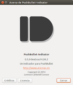 Pushbullet-Indicator adquiere la capacidad para pegar