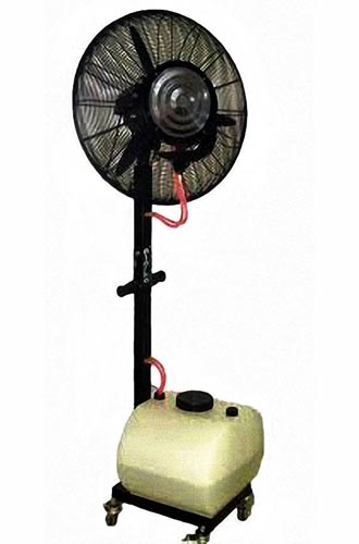 Rental Sewa Bandung Kipas Kabut Misty Fan Blower standing portable