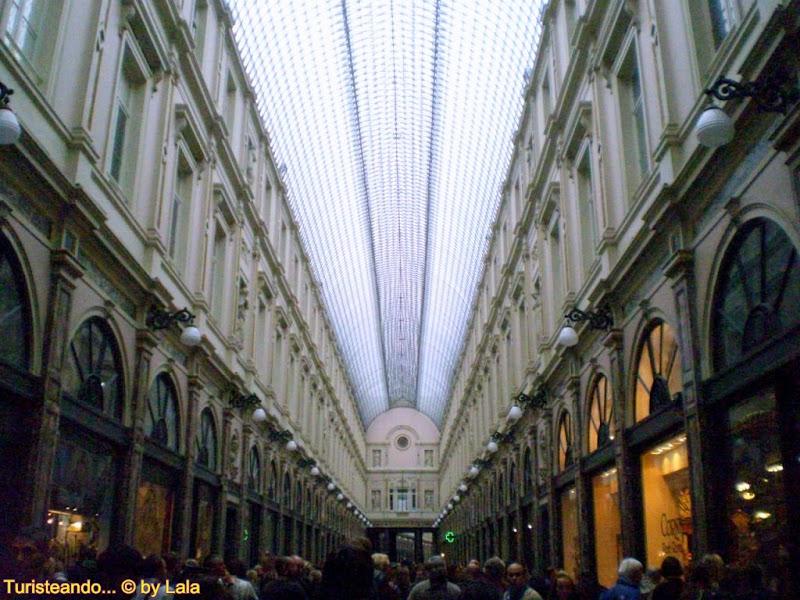 Galerías St-Hubert, Bruselas