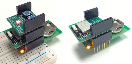 RFduino - tiny arduino with built-in wireless capability