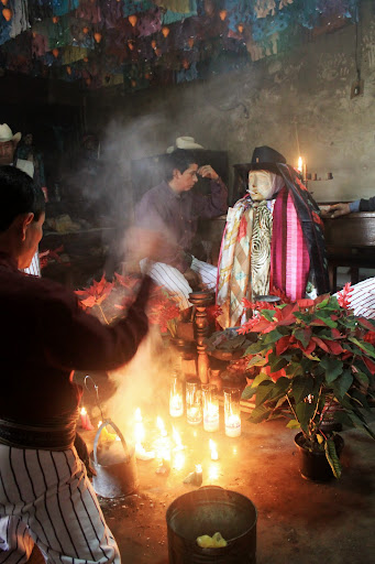 Maximon.  From Hit The Road to Antigua: Top Five Road Trip Destinations of Guatemala