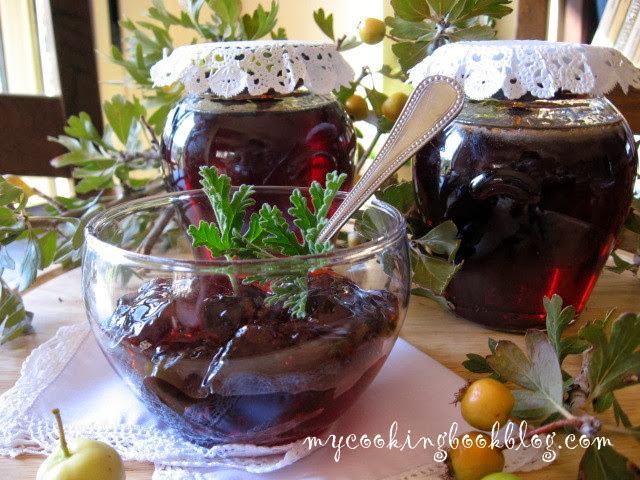 Мармалад от Мосфило (μόσφιλο) или желе от плодове на глог