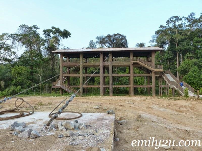 Kenyir Elephant Village