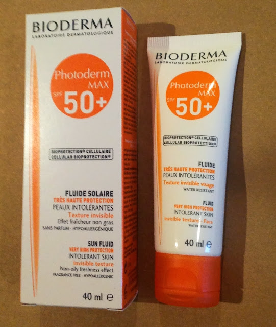 beauty shout box bioderma photoderm max 50 sun fluide review. Black Bedroom Furniture Sets. Home Design Ideas