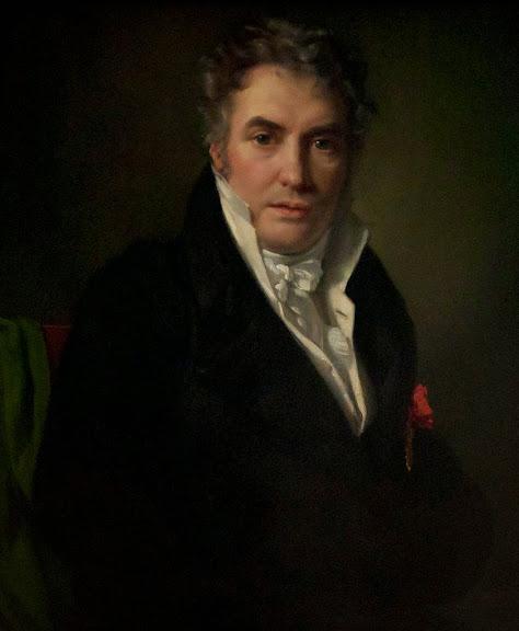 François-Joseph Navez - Portrait de Jacques-Louis David