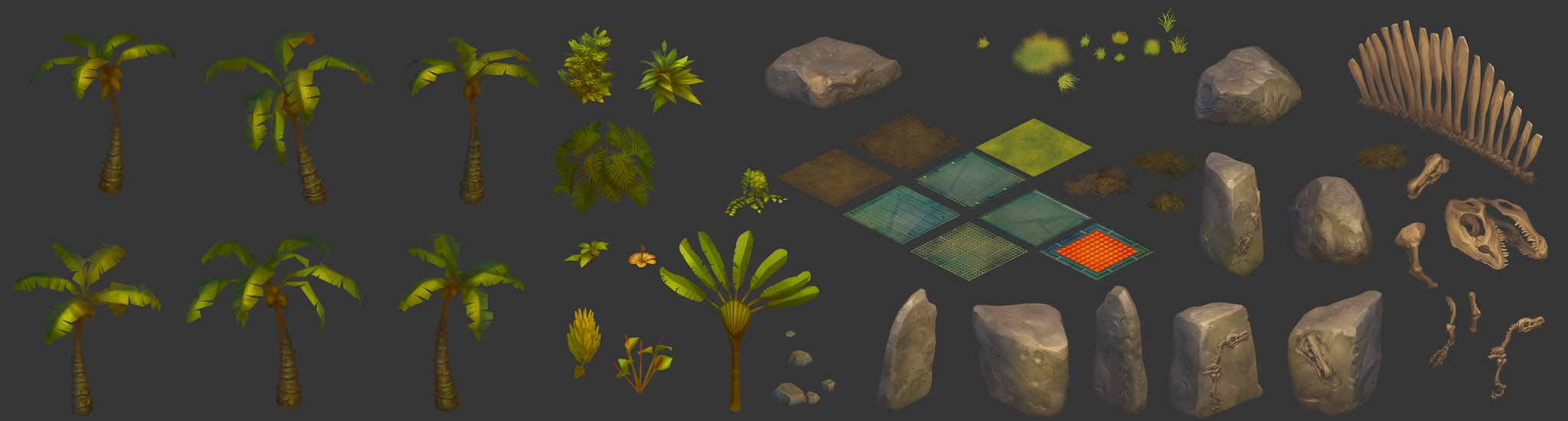 Eletric Jungle Assets