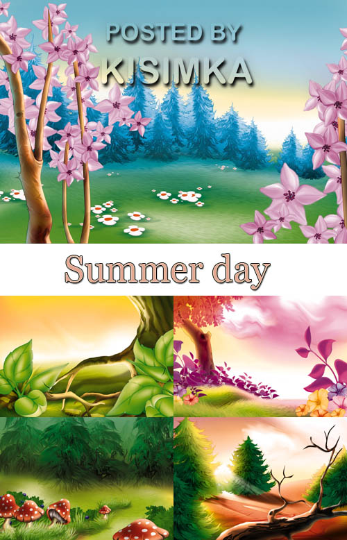 Illustration: Summer day