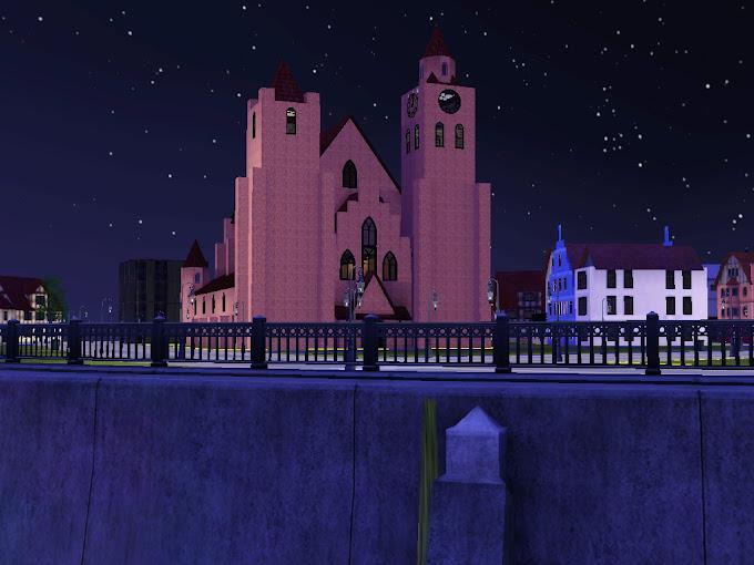 gothic church st erazm sims3