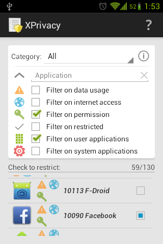 XPrivacy import/export enabler v1.11.10