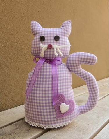 La mia craft room tutorial gatto fermaporta for Fermaporta fai da te