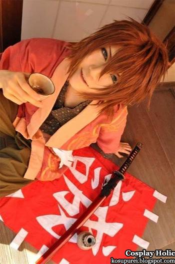 hakuoki shinsengumi kitan cosplay - okita souji 3