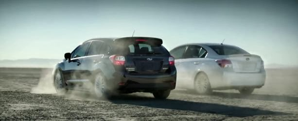 "DDB Toronto's New ""Dueling Imprezas"" Creative Shows Just How Fun Imprezas Are To Drive"