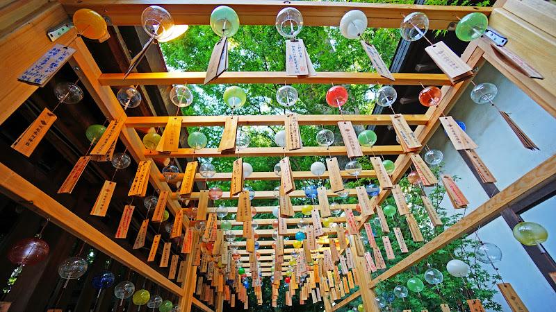 川越氷川神社 風鈴回廊 写真5