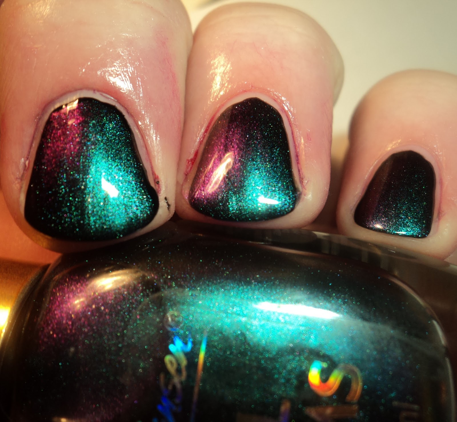 A Polish Problem: Sally Hansen Nail Prisms Turquoise Opal