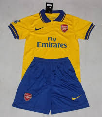 Jual Jersey Bola Anak Arsenal Away 2014