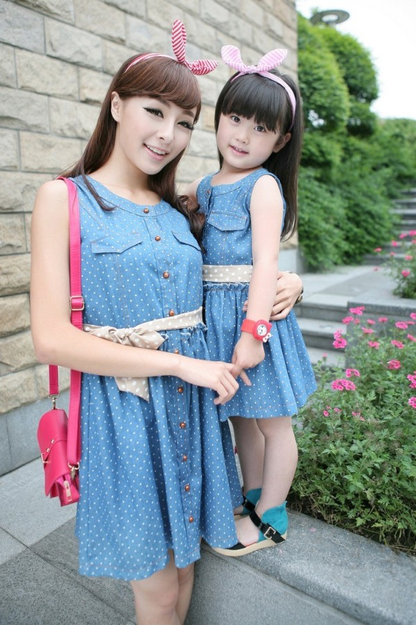Dress anak korea style