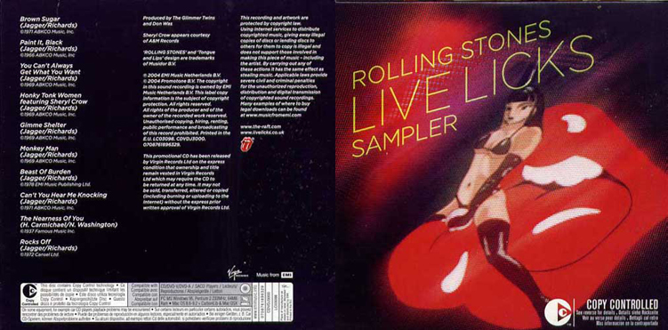 lick live rolling stone
