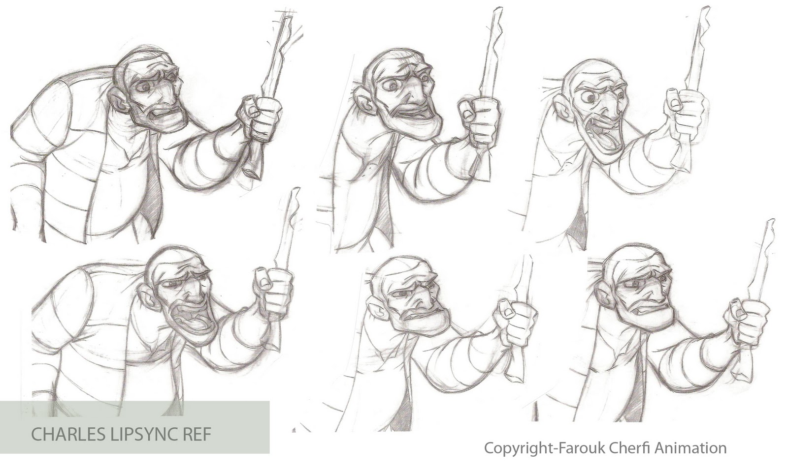 farouk animation art  animation sketches