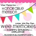 Honorable Mention at Wee Memories