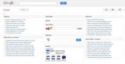 iGoogle Design Januar 2012