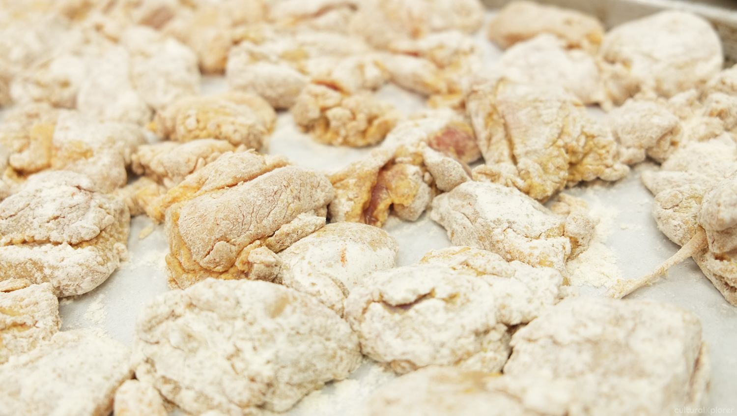 Fried Chicken in Flour