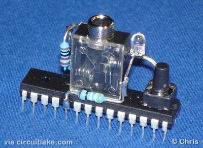 How to program arduino using Audio PC line