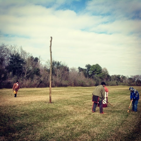 lessons from the Choctaw nation at the Chalmette Battleground