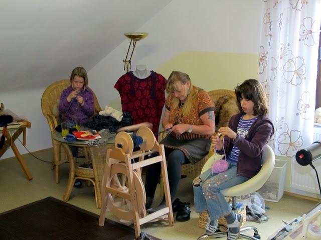 Nachwuchs bei Wollmoni im Strickzimmer