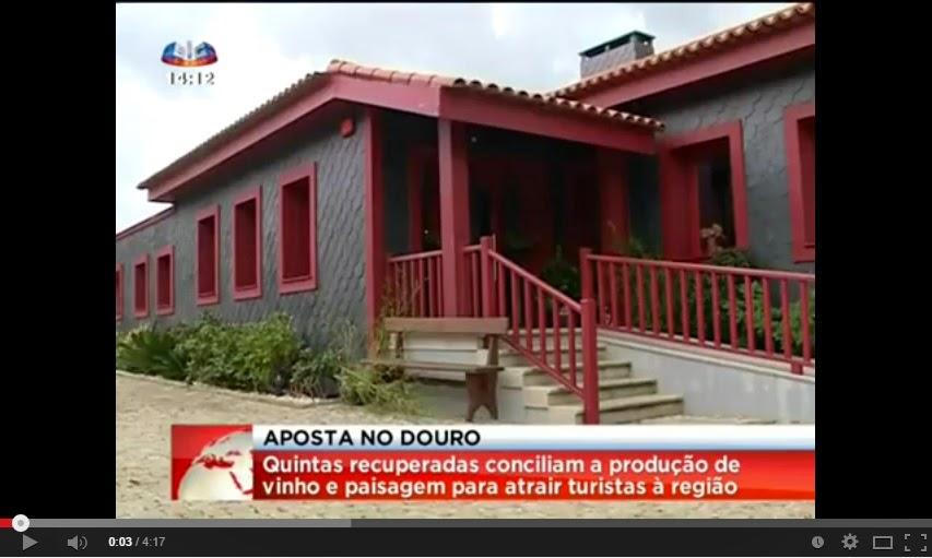 Quintas recuperadas no Douro conciliam produção de vinho e paisagem para atrair turistas