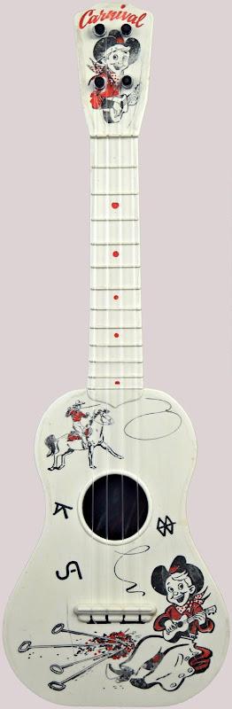 carnival cowboy sopranino pocket ukulele