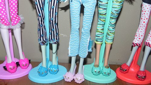 Monster High, colección Dead Tired (fiesta de pijamas)