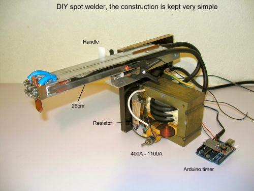 Arduino Based Fine Spot welder