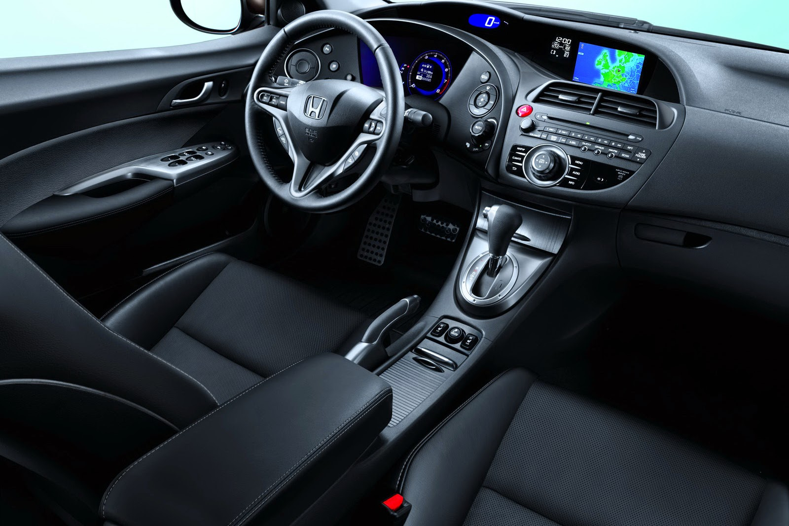 honda civic interior | Automotive
