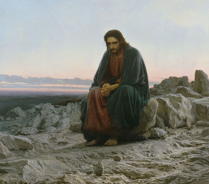 Ivan Kramskoy - Christ in the Desert, 1872