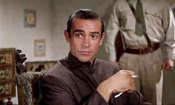 Screen Shot Of Hollywood Movie Dr. No (1962) In Hindi English Full Movie Free Download And Watch Online at alldownloads4u.com