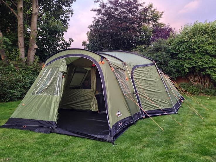 OT. Vango Maritsa 700 family tent. 7 berth, 2014 ...