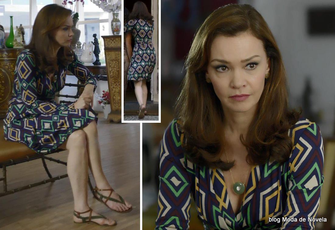 moda da novela Em Família - look da Helena dia 31 de maio