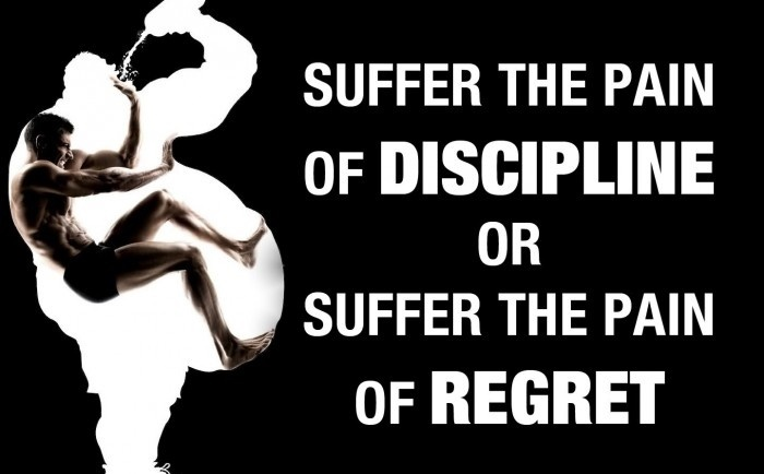 Discipline Or Regret