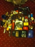 homemade survival pack supplies
