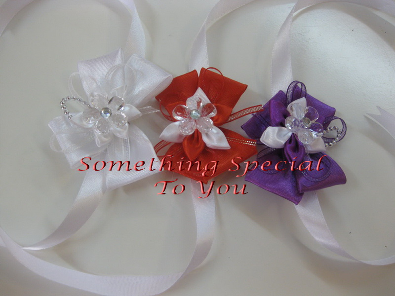 SOMETHING SPECIAL TO YOU Malaysia Wedding One Stop Shop Wristbands And Hand Corsages Wristlet