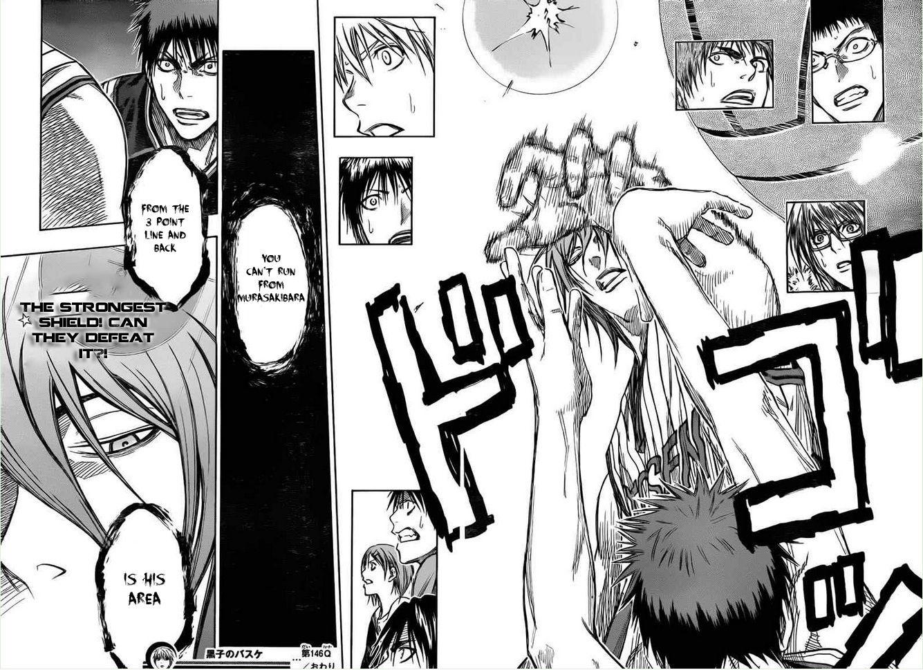 Kuroko no Basket Manga Chapter 146 - Image 17-18